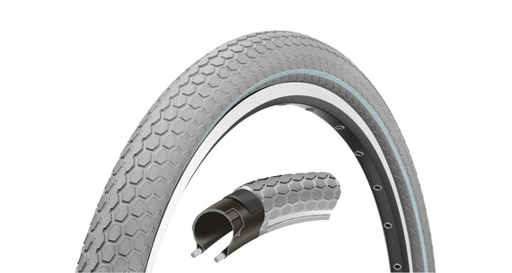 "Continental Retro Ride band 28"" draadband Reflex grijs"